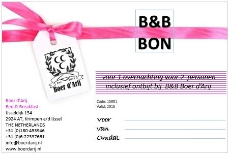 B&B BON!