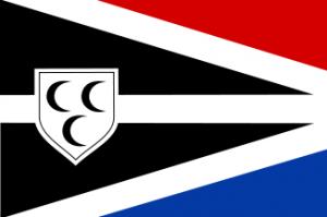 Vlag van de gemeente Krimpen aan den IJssel