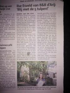 & 19 augustus in de IJssel & Lekstreek, dankjewel Loes!